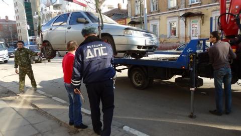 В Саратове подорожала эвакуация автомобилей