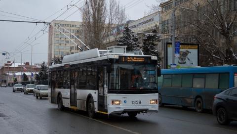 Троллейбусы с антивандальными сиденьями вышли на линию