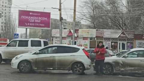 Авария на выезде из Саратова