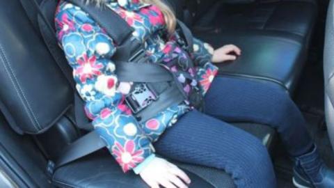 Детское кресло спасло малыша на Мичурина