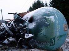 Саратовские поезда задержатся из-за крушения нефтяного состава