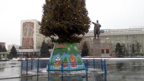 Саратов прощается с главной елкой