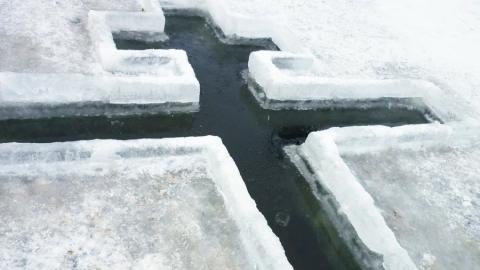Жители Саратова и области смогут на Крещение искупаться в оборудованных прорубях
