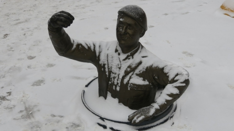 Саратовцев ожидает гололед и мокрый снег