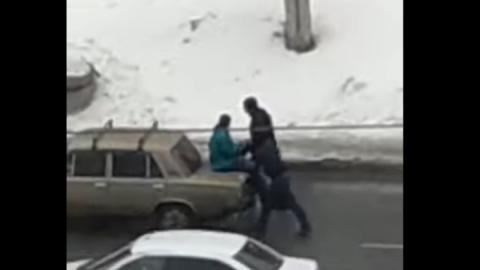 «Мужички на бричке» замечены в Ленинском | Видео