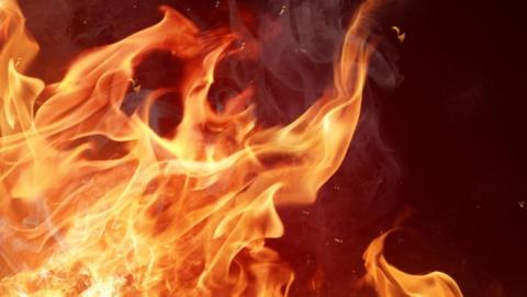 Двухкомнатная квартира сгорела в Ленинском районе