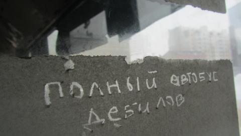 На сидениях новых троллейбусов саратовцы не смогут писать непристойности