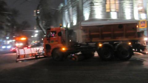 Снег в Саратовской области чистят усиленными темпами