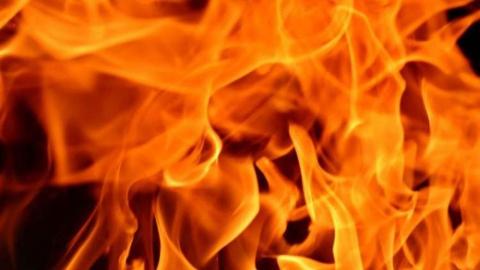 Частный дом чуть не сгорел из-за неисправной печки