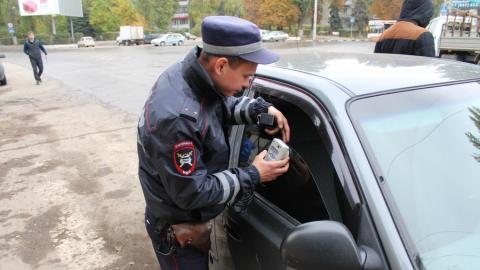 Любитель тонировки арестован на двое суток