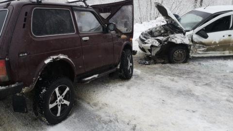 Пятилетняя девочка пострадала в аварии