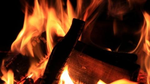 Сегодня ночью в «Гнездышке» сгорела дача