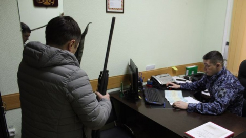 Росгвардия предлагает сдавать нелегальное оружие