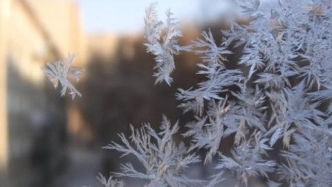 Арктический ветер движется на Саратов