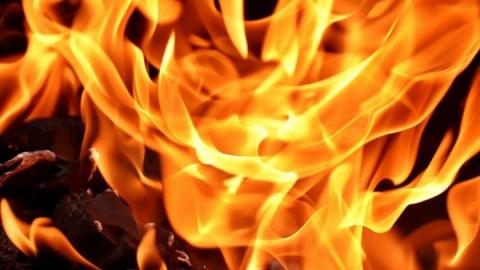 70-летняя бабушка погибла в огне