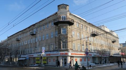 В центре Саратова рушится гостиница «Россия»