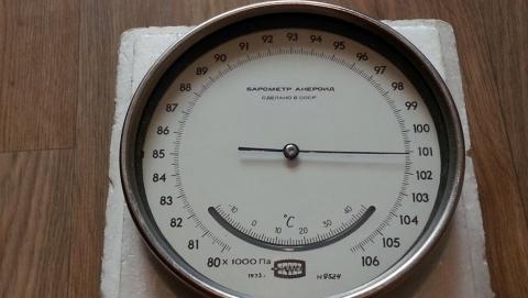 Вниманию сердечников: в регионе ожидается рост атмосферного давления