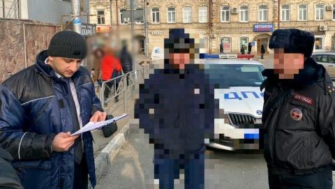 Саратовец пытался дать взятку ДПСнику в центре города