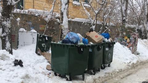 В Саратове недосчитались мусорок