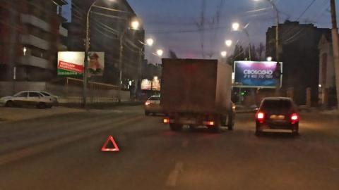Грузовая «ГАЗель» попала в аварию в Заводском районе