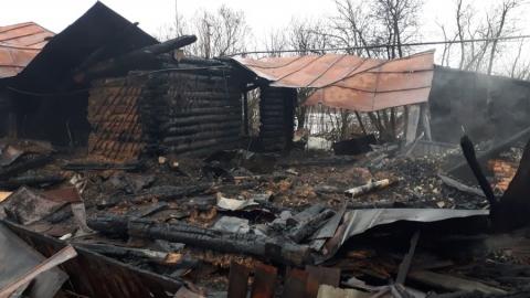 Пожилой мужчина погиб на пожаре из-за самодельного обогревателя