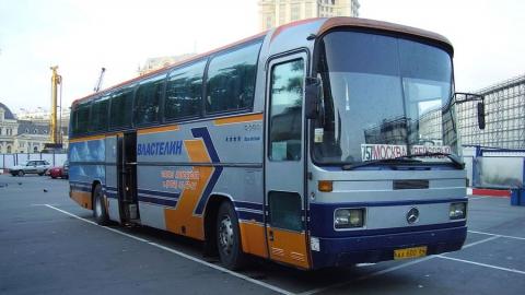 Московский автобус разбился в Лысогорском районе