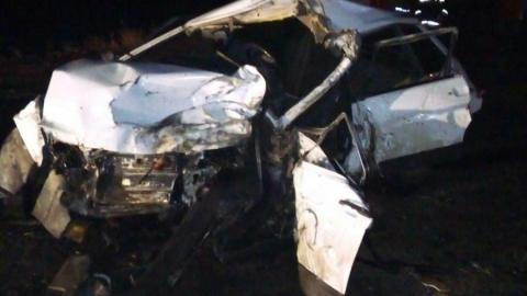 Водитель «девятки» попал в ДТП с внедорожником и погиб