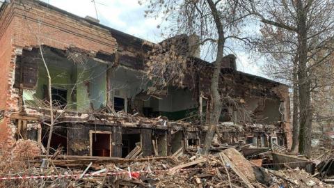 В центре Саратова начался незаконный снос выявленного объекта культурного наследия