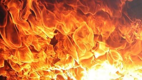 Дом сгорел вместе с сыном его хозяина