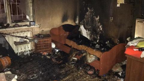Курение в постели погубило жителя Заводского района