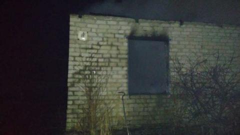 Человек погиб в обвалившемся от пожара доме