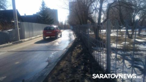 Администрация: школу не трогать, тротуар починим через два года