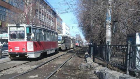 Новая остановка трамваев в Саратове