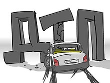 """Рено"" протаранил трамвай №3 на повороте"