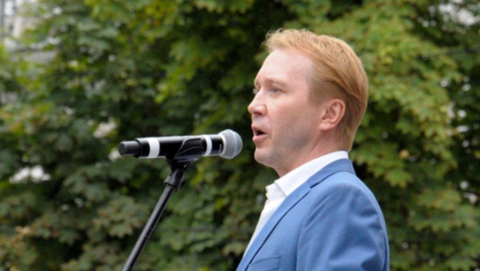 Евгений Миронов получил премию Чаплина