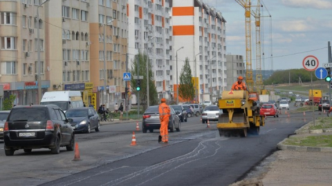 Свежий асфальтобетон появится в Кировском и Заводском
