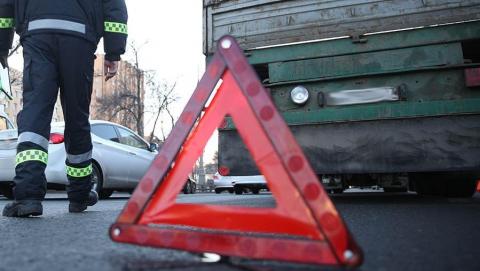 «КамАЗ» собрал «паровоз» из трех машин в Энгельсе