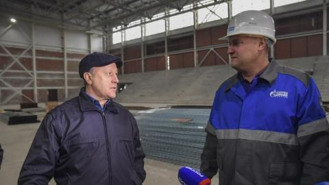 Валерий Радаев посетил стройку в Солнечном-2 в Саратове
