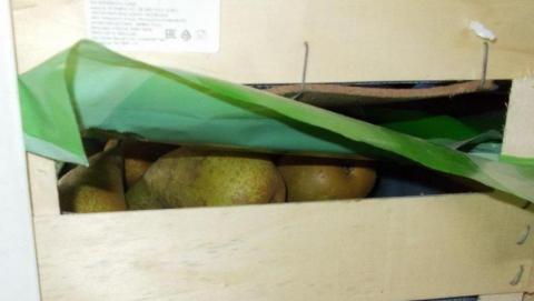 Саратовская таможня изъяла более двух тонн санкционных груш