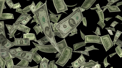 После резкого утреннего скачка доллар снова пошел на спад