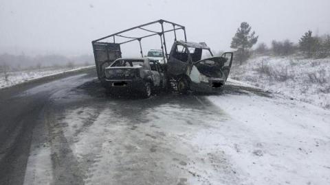 Три человека попали в больницу после ДТП с «ГАЗелью»
