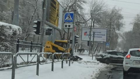 В центре города с утра не работают светофоры