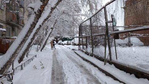 Снегопад ушел из региона