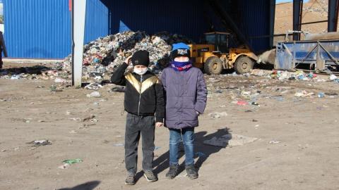 АО «Управление отходами» поддерживает экологические инициативы детей