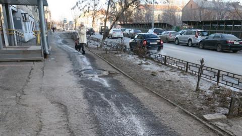 Михаил Исаев о саратовских тротуарах: «Разыграно аукционов на сумму порядка 300 миллионов рублей»