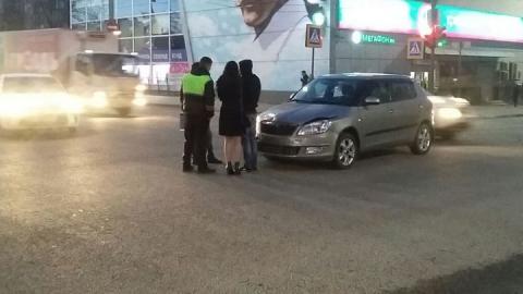 Столкновение иномарок в центре Саратова