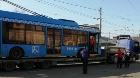 Исаев опубликовал фото новых саратовских троллейбусов