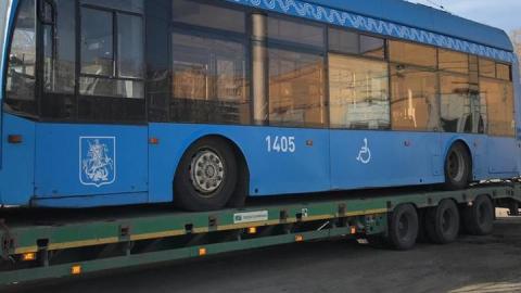 Прибывшие в Саратов московские троллейбусы продезинфицируют