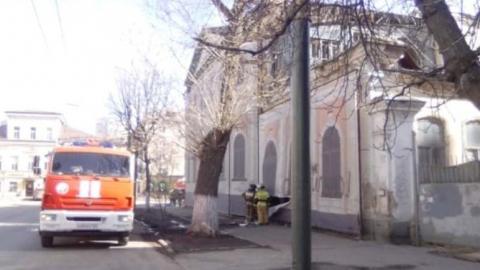 В центре Саратова горит усадьба вице-губернатора