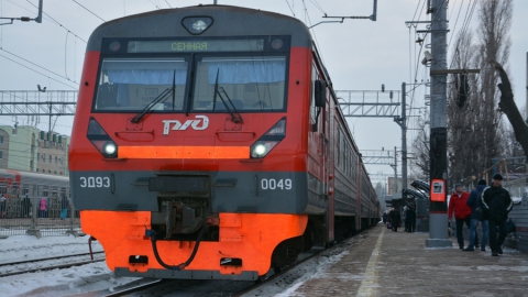 ПривЖД сократили количество электричек до «Гагарина»